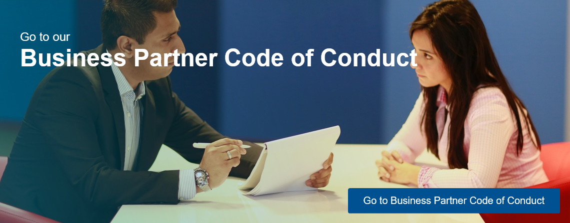 Go to our Business Partner Code of Conduct