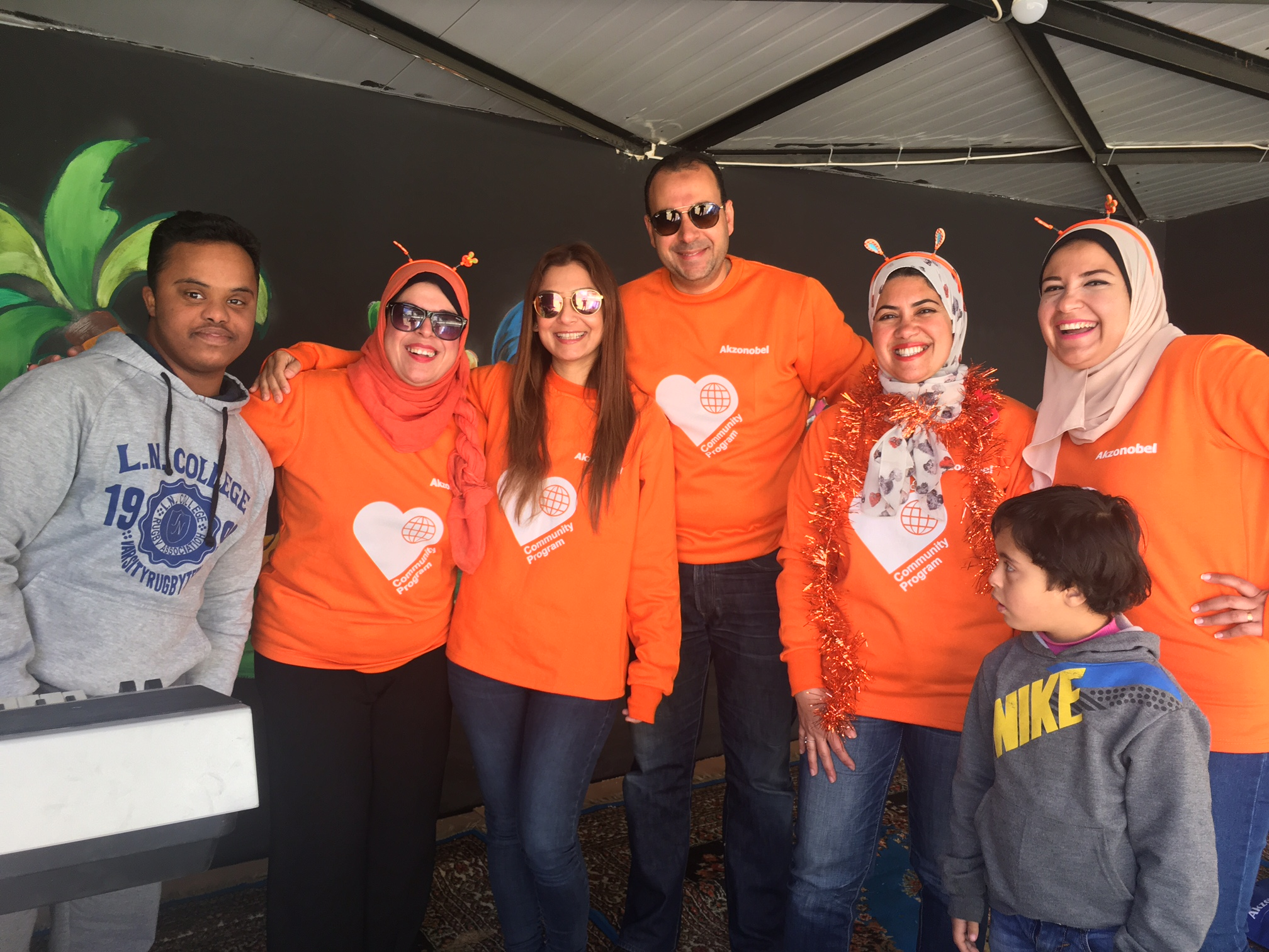 AkzoNobel supporting education of special needs children in Egypt