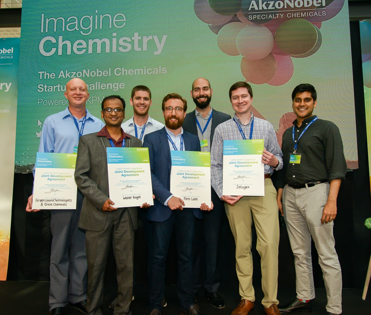 AkzoNobel Specialty Chemicals announces 2018 Imagine Chemistry winners